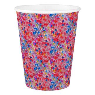 透明な水球 紙コップ
