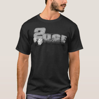 透明な2uce Bettaのロゴ Tシャツ