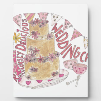 途方もなくおいしいウエディングケーキ フォトプラーク