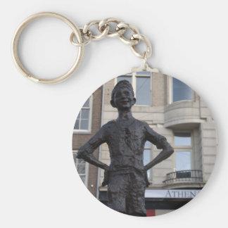 通りの子供の彫像、アムステルダム キーホルダー