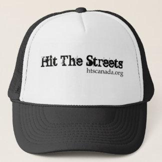 通りの帽子に当って下さい キャップ