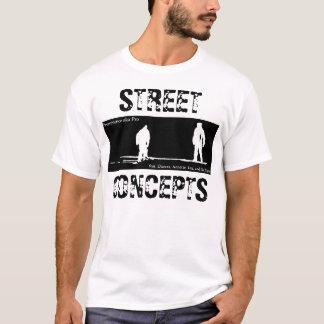 通りの概念t tシャツ