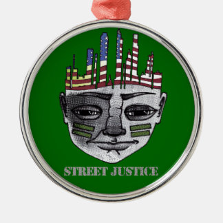 通りの正義による都市戦士 メタルオーナメント