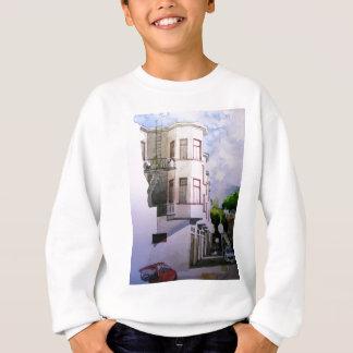 通りの眺めサンフランシスコ1.jpg スウェットシャツ