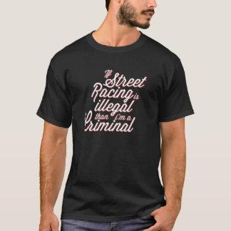 通りの競争 Tシャツ