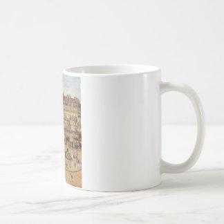 通りの聖者のHonoreの朝の日曜日の効果、場所 コーヒーマグカップ