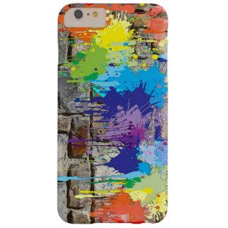 通りの芸術のペンキは落書きの携帯電話の箱を着色します BARELY THERE iPhone 6 PLUS ケース