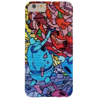 通りの芸術の落書きのカラフルな携帯電話の箱 BARELY THERE iPhone 6 PLUS ケース