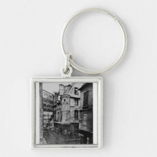 通りのVieille DU寺院、パリ1858-78年 キーホルダー