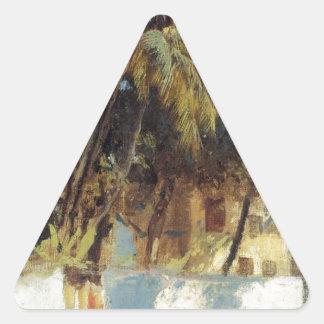 通り場面、エドウィンの主Weeksによるボンベイ 三角形シール