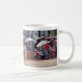 通り場面、バンジュル、ガンビア、アフリカ コーヒーマグカップ