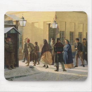 通り場面、刑務所の外で、1868年 マウスパッド