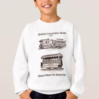通り車1876年のためのBaldwinの蒸気モーター スウェットシャツ