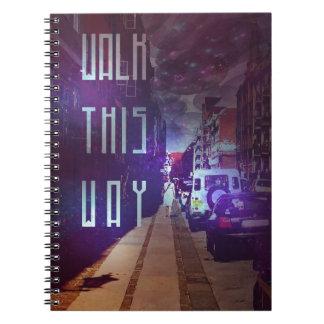 通り ノートブック