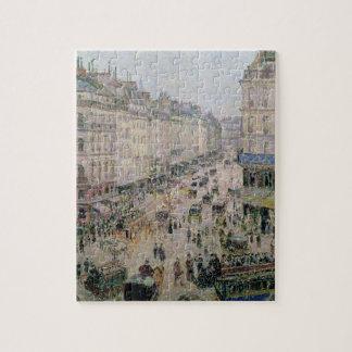 通りde l'Epicerie、ルーアン、明るい午後に、18 ジグソーパズル