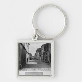 通りde Lourcine、パリからの通りdes Anglaises、 キーホルダー