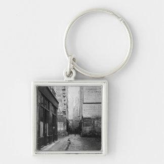 通りde Rivoli、パリからの通りTirechape、 キーホルダー