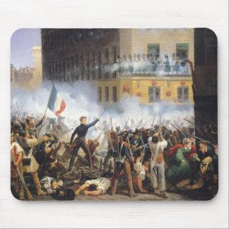 通りde Rohan、1830年7月28日で1831年戦って下さい マウスパッド