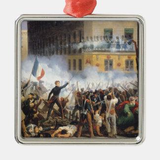 通りde Rohan、1830年7月28日で1831年戦って下さい メタルオーナメント