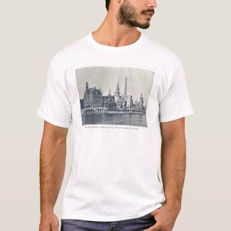 通りdesの国家、川Eineのパリの博覧会1900年、 Tシャツ