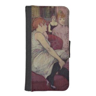 通りdesムーランのサロンでは、1894年 iPhoneSE/5/5sウォレットケース