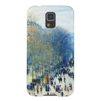 通りdes Capucinesクロード・モネの芸術 Galaxy S5 ケース