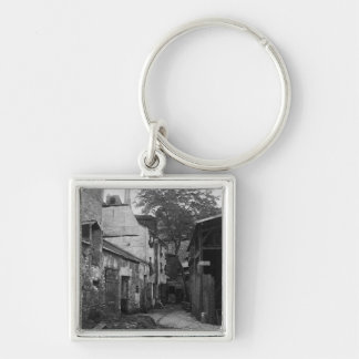 通りLarrey 8、パリ1858-78年の中庭 キーホルダー