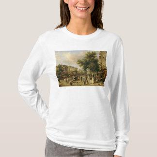 通りMontmartre、パリ1830年の眺め Tシャツ