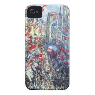通りMontorgueil、クロード・モネ著パリ Case-Mate iPhone 4 ケース