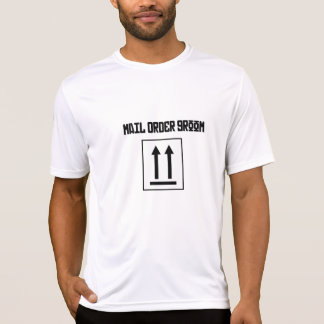 通信販売の新郎-ティーの上のこの側面 Tシャツ