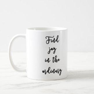 通常のマグの発見の喜び コーヒーマグカップ