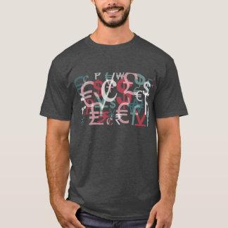 通貨の株式市場のワイシャツ Tシャツ