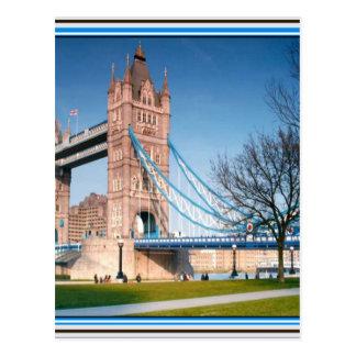 通路ロンドンのイギリスのおもしろいのピクニック点の橋だけ ポストカード