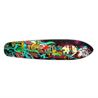 通路5 Pleez -落書きの芸術のスケートのデッキの一掃 21.6cm オールドスクールスケートボードデッキ