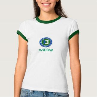 通風孔の寡婦のTシャツ Tシャツ