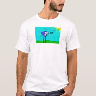 速いか。 Tシャツ