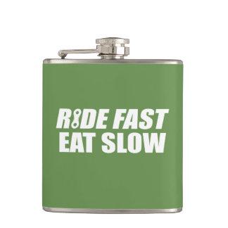 速い乗車は遅い食べます フラスク