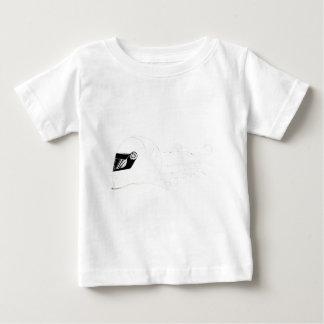 速い女の子シリーズ ベビーTシャツ