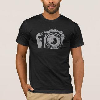 速い射撃、発砲のカメラ Tシャツ