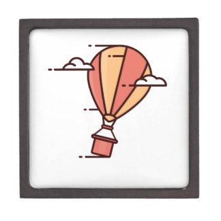 速い熱気の気球 ギフトボックス