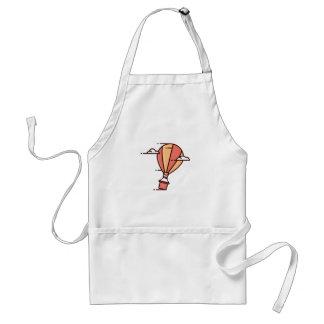 速い熱気の気球 スタンダードエプロン