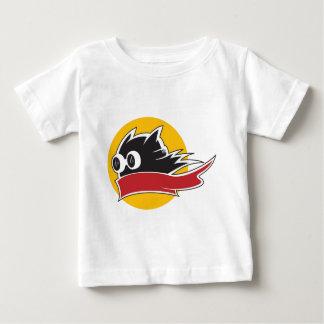 速い猫 ベビーTシャツ