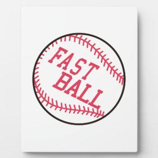 速い野球 フォトプラーク