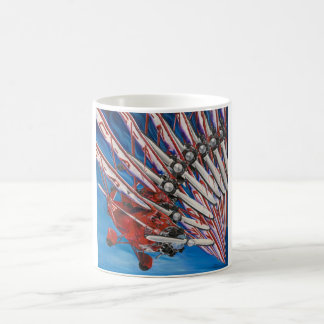速い銀行業 コーヒーマグカップ