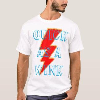 速くまばたきとして Tシャツ