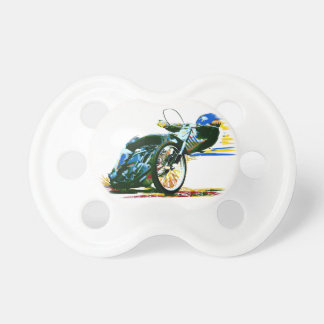 速く素晴らしい高速自動車道路のオートバイ おしゃぶり