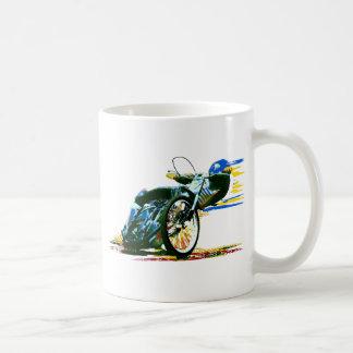 速く素晴らしい高速自動車道路のオートバイ コーヒーマグカップ