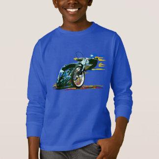 速く素晴らしい高速自動車道路のオートバイ Tシャツ