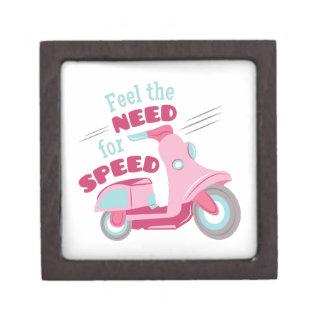 速度のための必要性 ギフトボックス