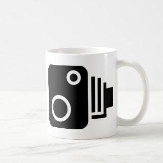 速度のカメラの記号 コーヒーマグカップ